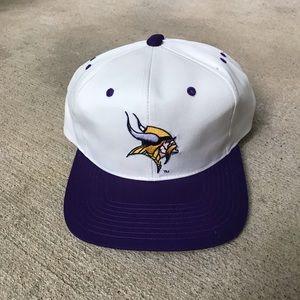 Vtg Vikings Hat